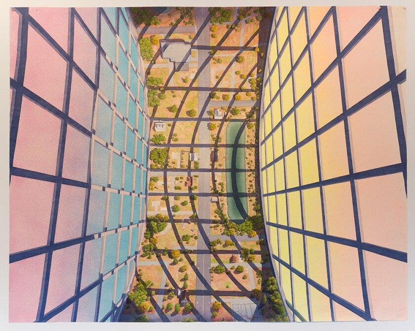 "Micah Ganske's ""Centralia Habitat: Up"" was created in 2014."