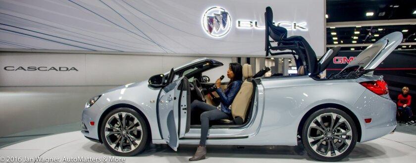 Buick Cascada - an Opel