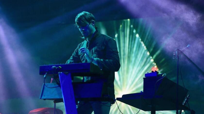 Visual artist/musician Tycho, known for his vintage-style synthesizers and ambient melodies, is one of the mega star performers this weekend. (Jason Kempin)