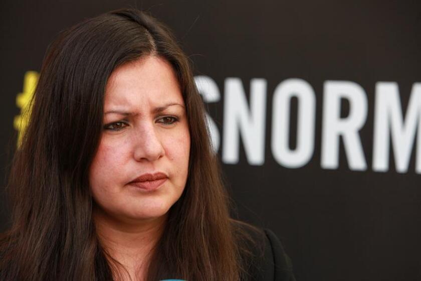 Fotografía de archivo de la directora para América de Amnistía Internacional, Erika Guevara. EFE/Archivo