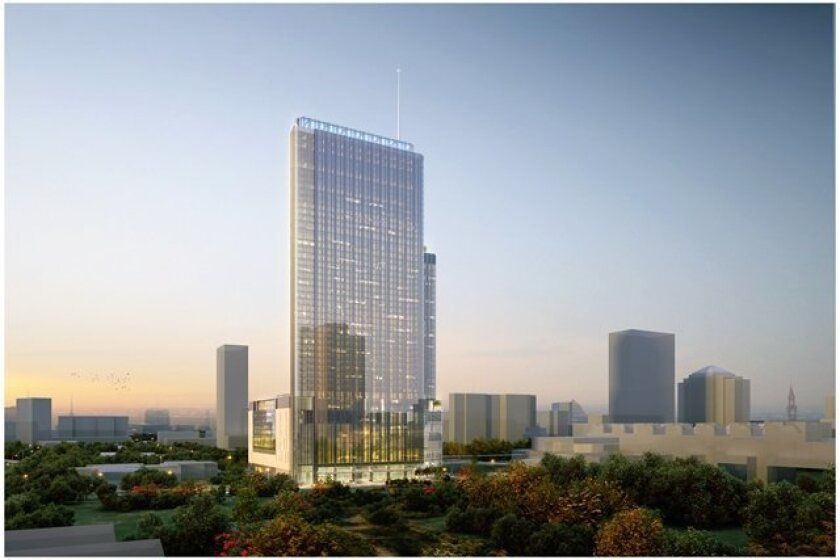 The 1,054-room Fairmont Austin will be built adjacent to the Austin convention center and will be the city's tallest hotel.