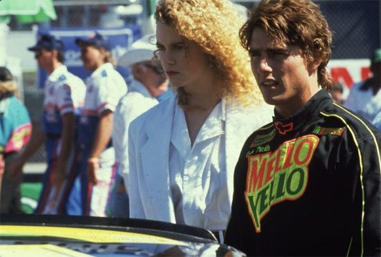 """Tom Cruise wasn't lying in """"Top Gun"""" when he said he had a """"need for speed."""" Cruise proved his mettle again in this 1990 action flick, this time with future wife Nicole Kidman."""