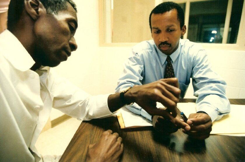 Civil rights hero Bryan Stevenson gets movie star moment with HBO