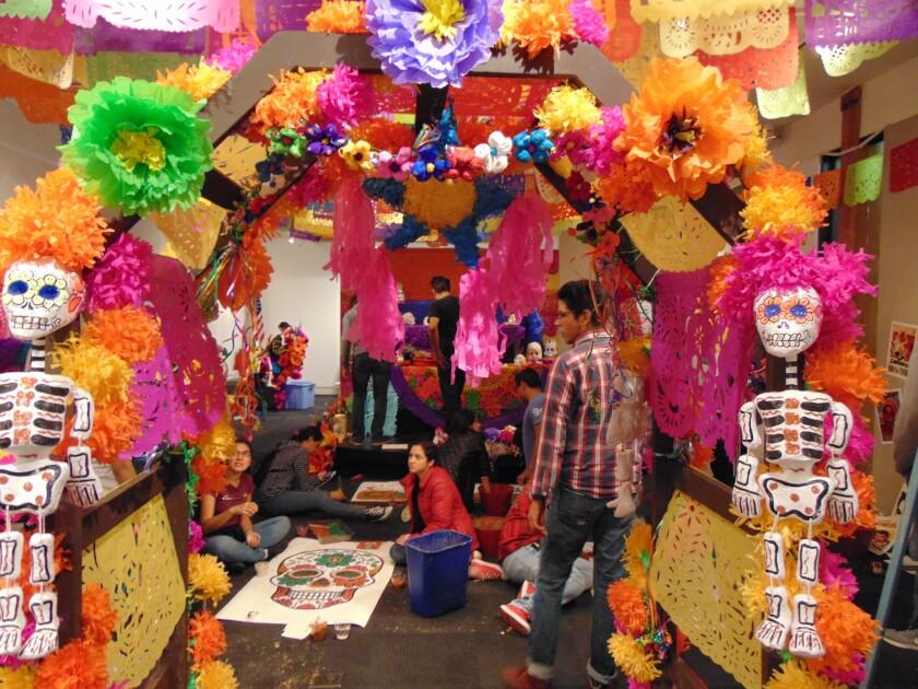 Dia de los Muertos: Opening Reception and Talk.