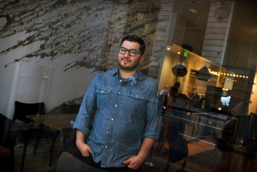 Chef Josef Centeno, owner of Baco Mercat, Bar Ama and Orsa & Winston in L.A., routinely works a 16-hour day.