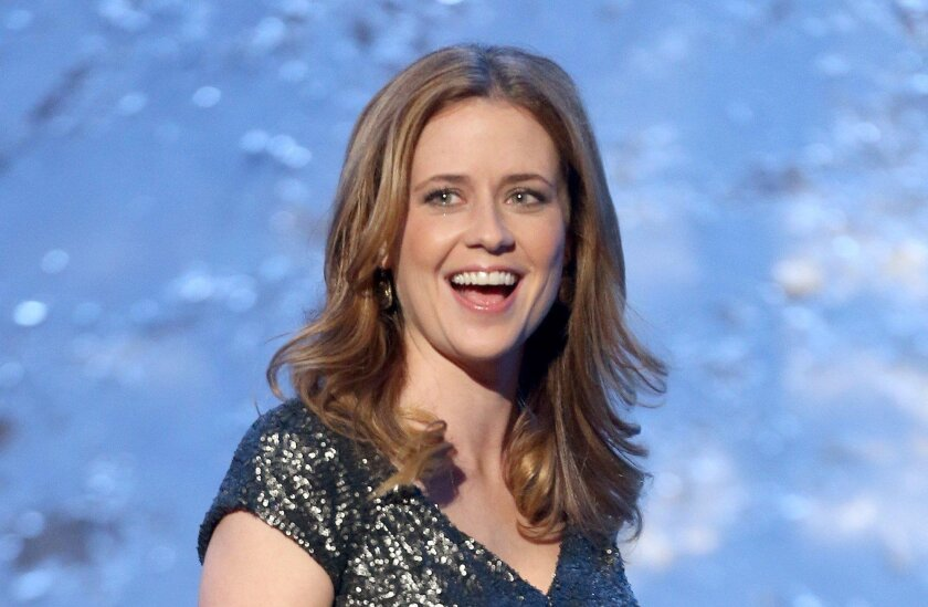 """Jenna Fischer (pictured at the American Giving Awards in 2012) will appear in the world premiere of Steve Martin's play """"Meteor Shower"""" at San Diego's Old Globe Theatre."""