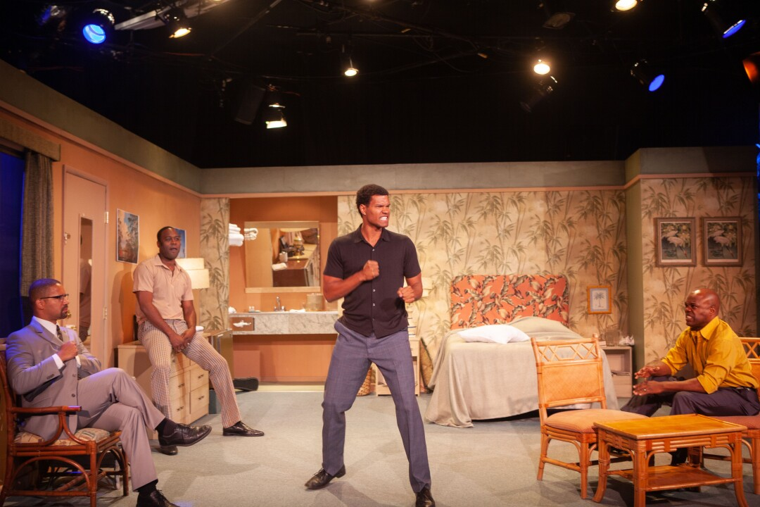 """A scene from the stage premiere of Kemp Powers' """"One Night in Miami ..."""""""