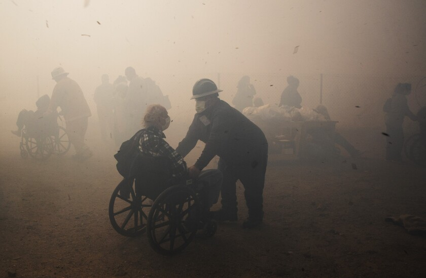 L.A. Times Photographer Gina Ferazzi received the Southern California Journalism Award for News Photo.