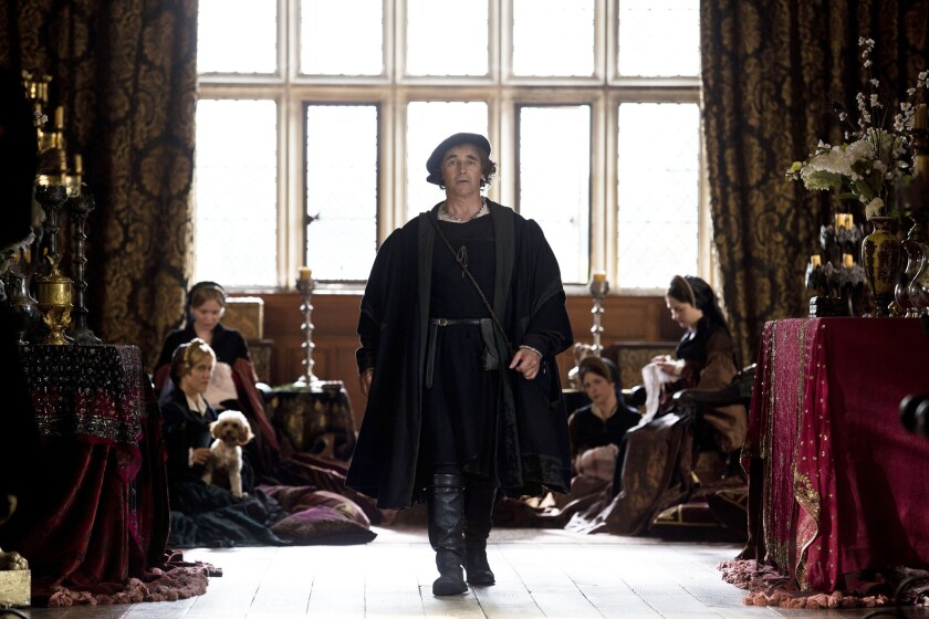 """Mark Rylance as Thomas Cromwell in """"Wolf Hall."""""""