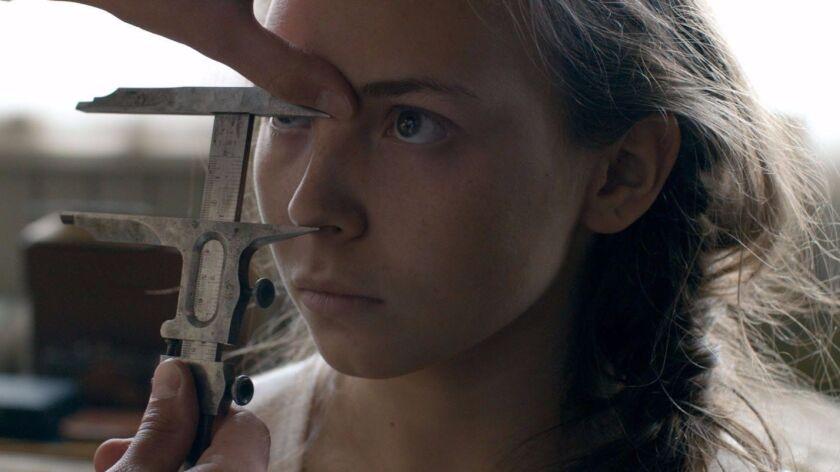 "Lene Cecilia Sparrok in the movie ""Sami Blood."""