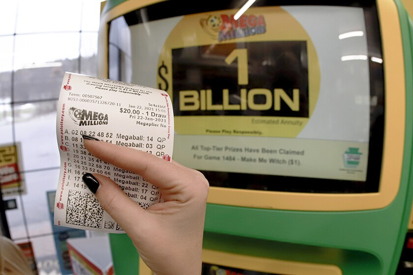 The Mega Millions top prize had been growing since Sept. 15, when a winning ticket was sold in Wisconsin.