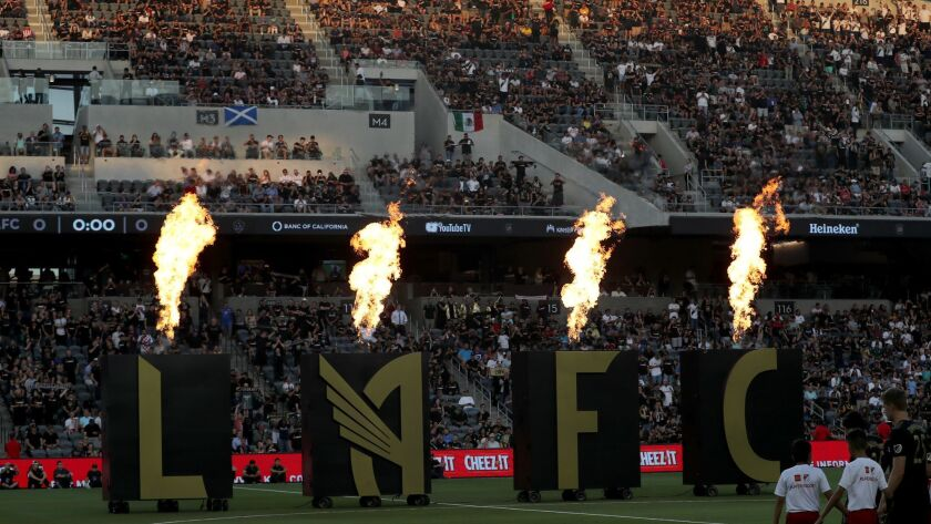 Banc of California Stadium is the site for LAFC's game against Japanese club Vissel Kobe on Thursday at 7 p.m.