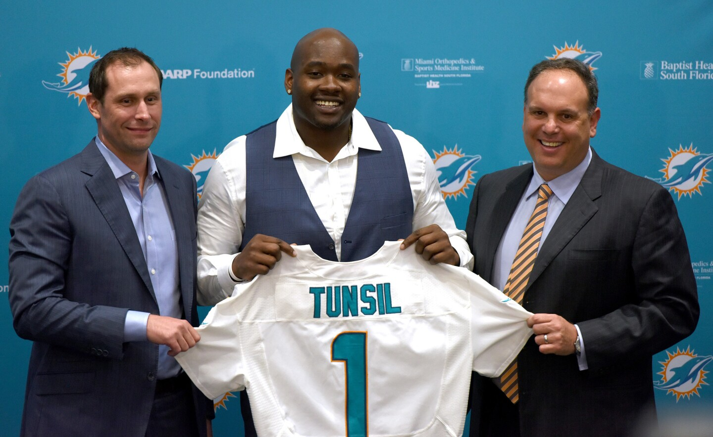 Laremy Tunsil introduced