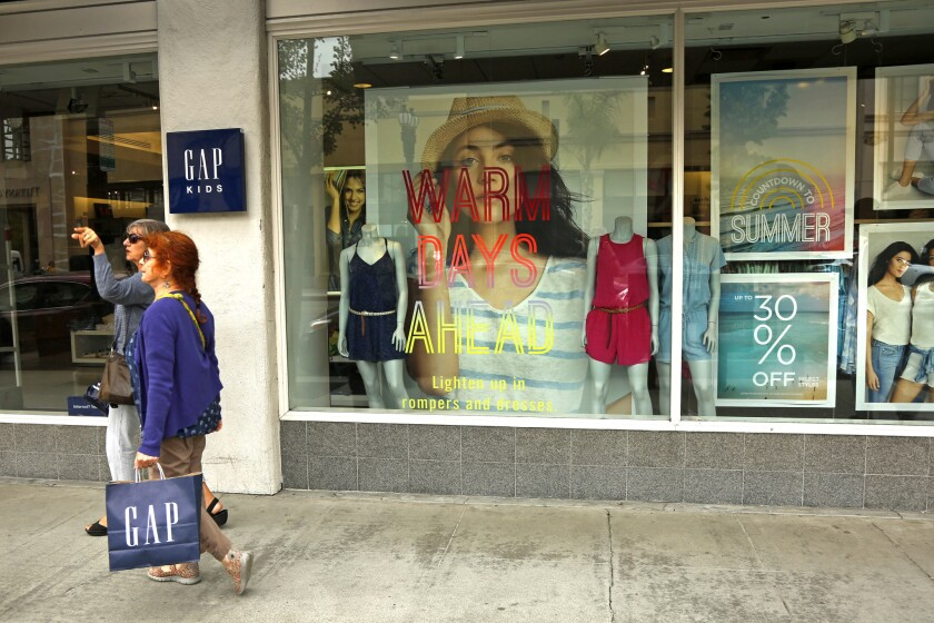 Gap Inc. has struggled to entice shoppers who are flocking to fast-fashion retailers such as H&M and Zara.