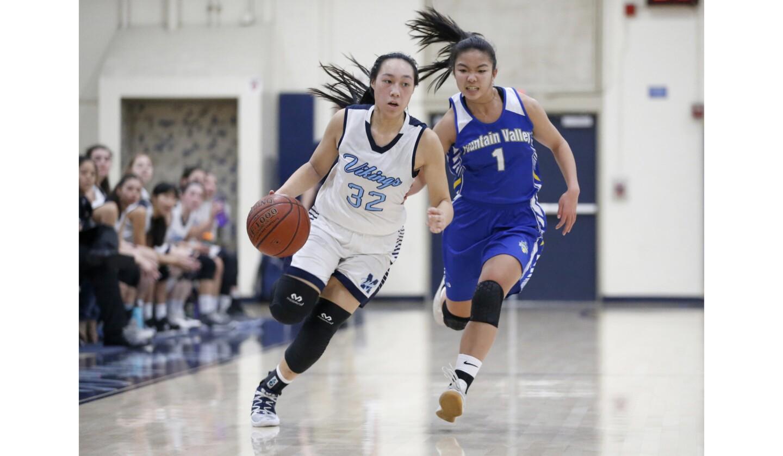 Photo Gallery: Fountain Valley vs. Marina in girls' basketball