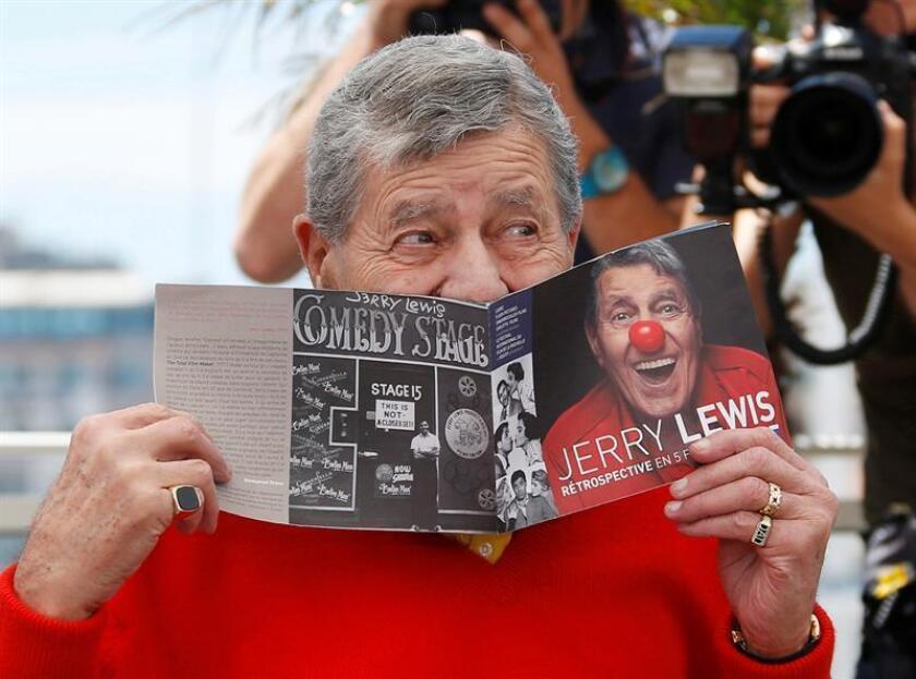 Fotografía de Jerry Lewis. EFE/Archivo