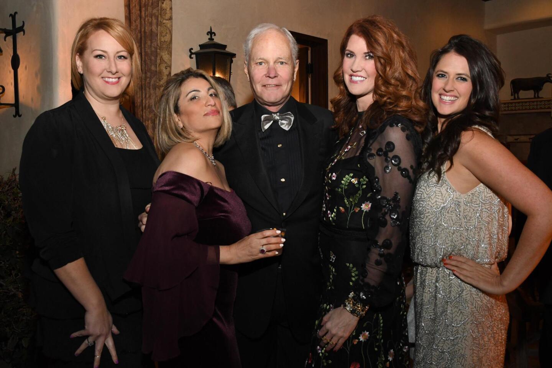 Natalie Rankin, Julie and Bill Ruehle, Evva Fenison (SDFF luxury brands VP), Angela Cordoni