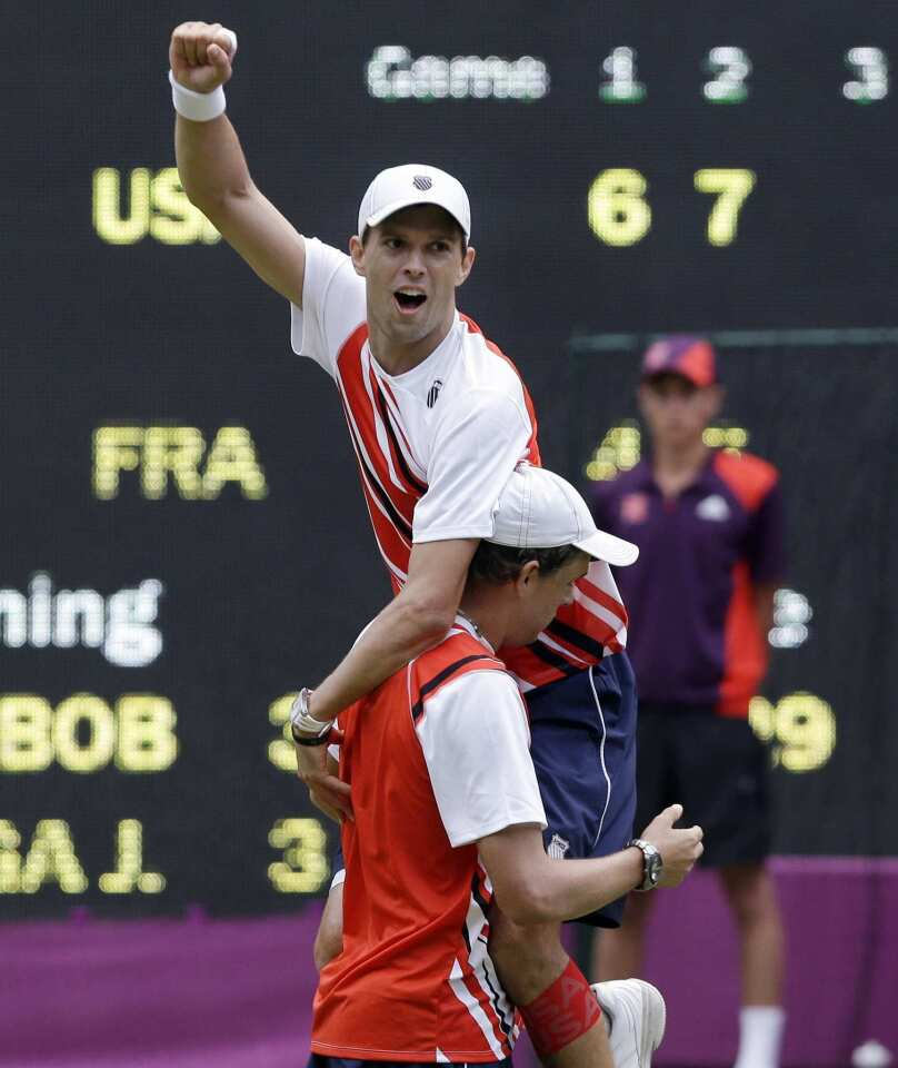 Bryan brothers win gold
