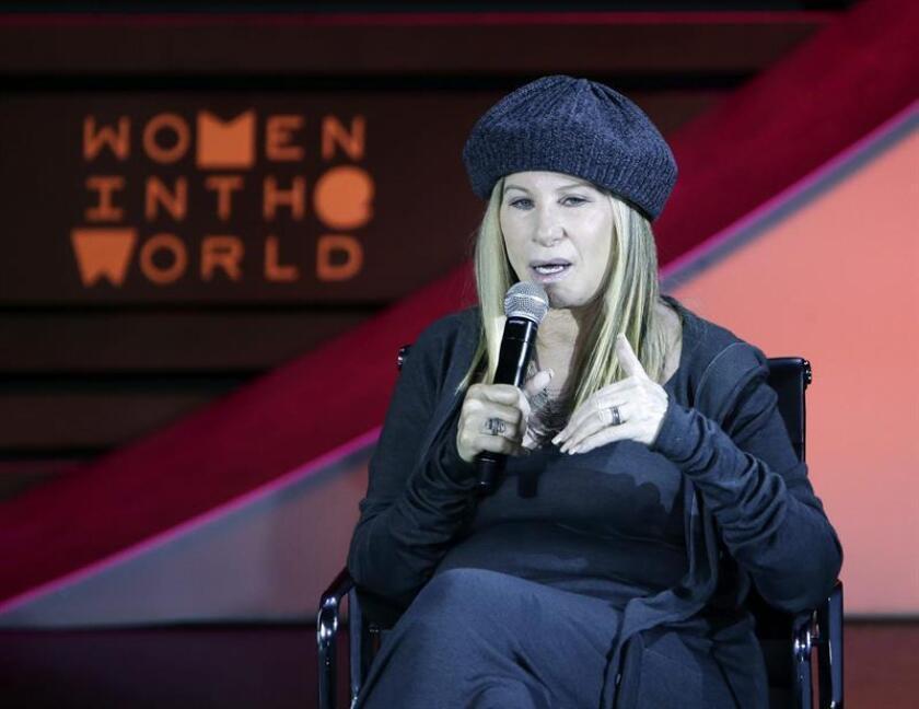 La actriz y cantante estadounidense Barbra Streisand. EFE/Archivo