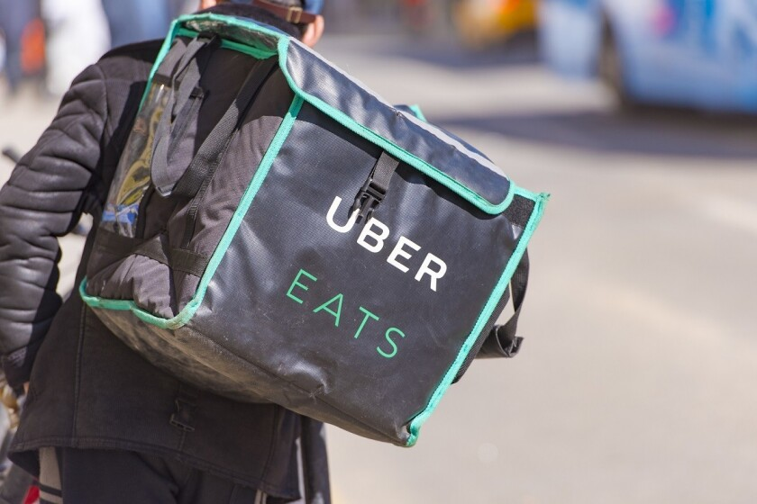 Uber eats expects to deliver $10 billion worth of food this year