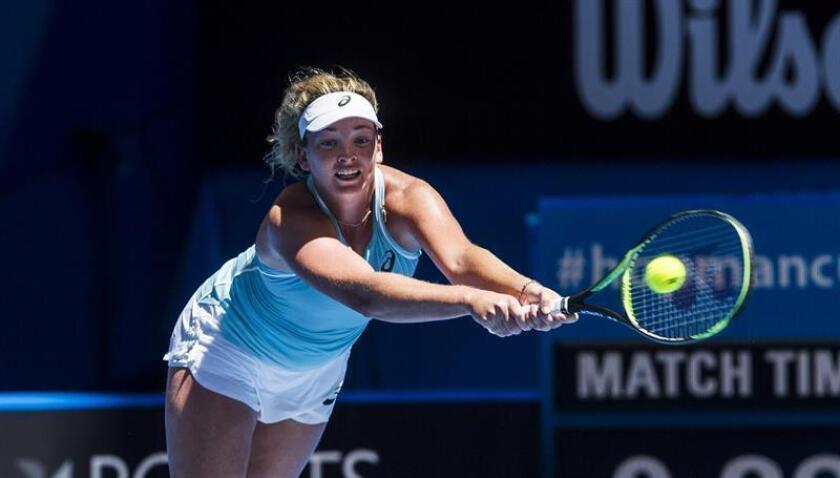 Coco Vandeweghe, tenista estadounidense. EFE/Archivo