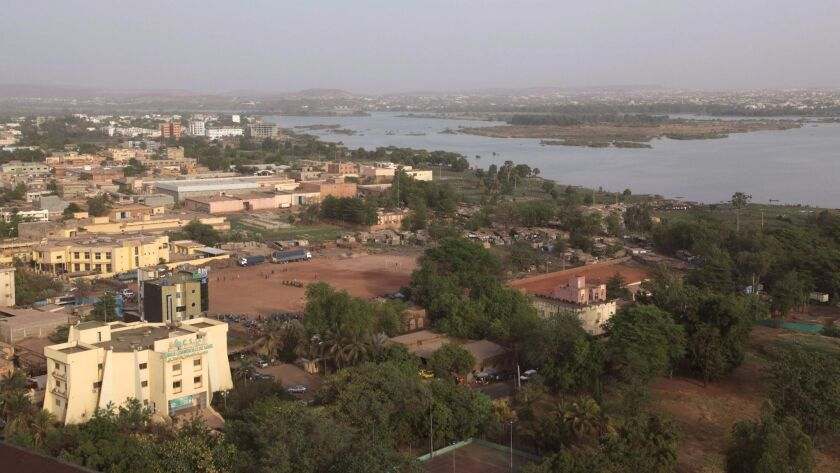 A view of the Malian capital, Bamako. Suspected militants launched an attack on a hotel resort on the outskirts of the city on June 18.