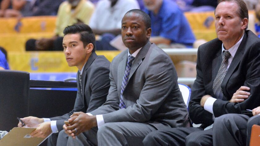 """""""I need to block out all the distractions and focus on the team,"""" says Justin Bell, who has been named interim head coach at UC Riverside. """"I got into coaching because I'm passionate about the sport and helping kids."""""""