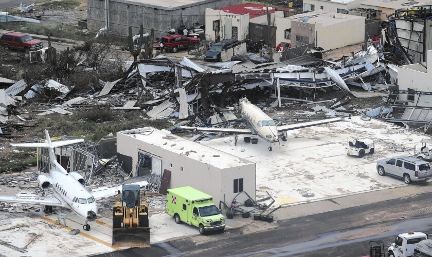 Los Cabos airport in Mexico after Odile