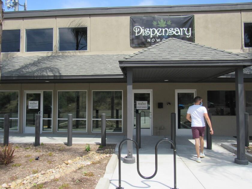 The Boulevard Dispensary is the lone medical marijuana store in Lemon Grove.