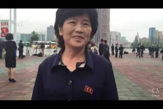 Outside the Workers Party Congress | North Korean citizen talks about her country