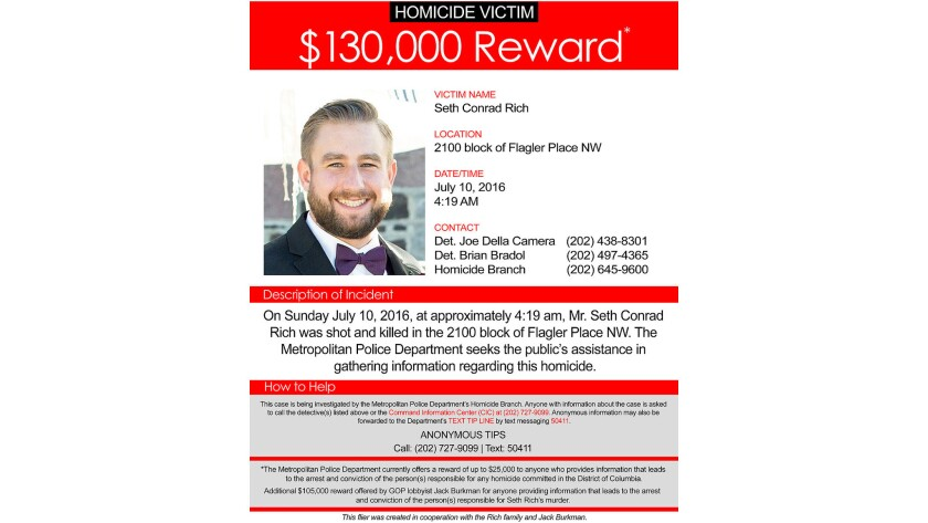 How Seth Rich's death became an Internet conspiracy theory - Los ...