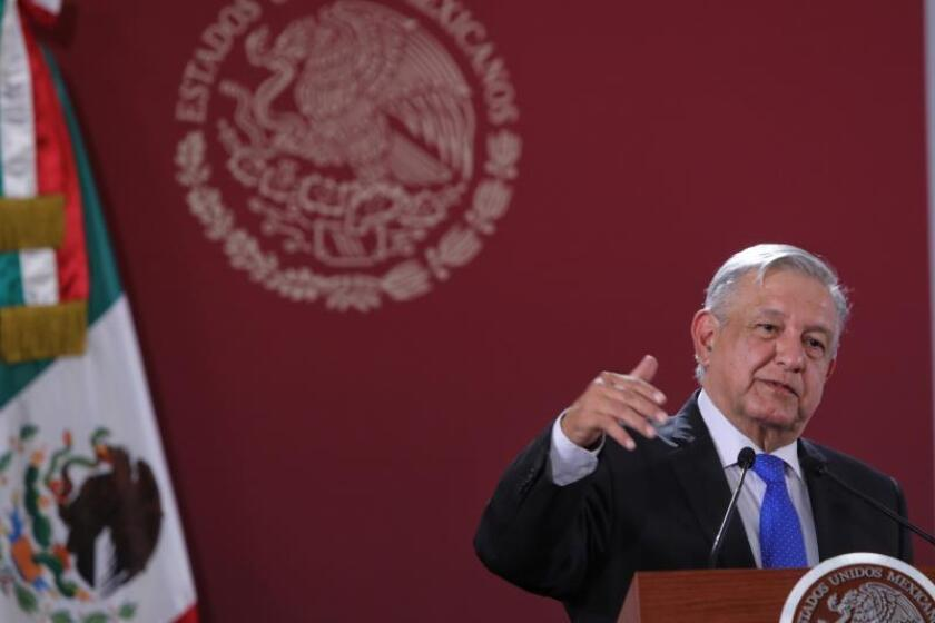 """López Obrador: """"No queremos colgarnos ninguna medalla"""""""
