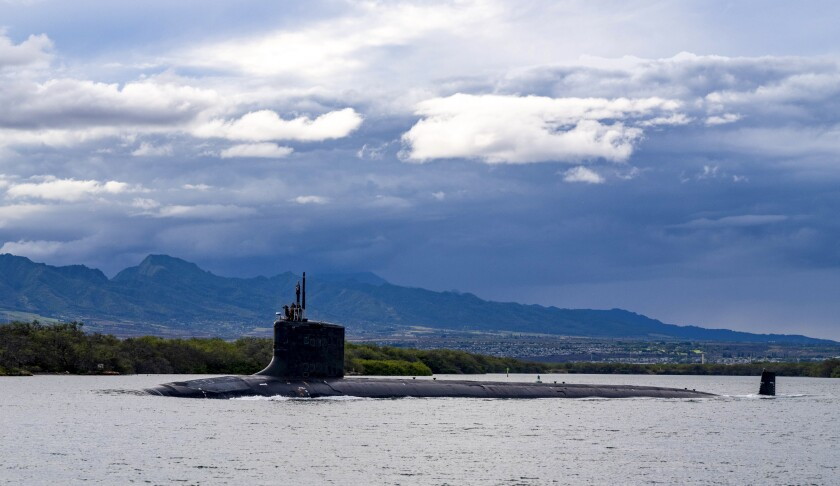 Virginia-class fast-attack submarine USS Missouri (SSN 780)
