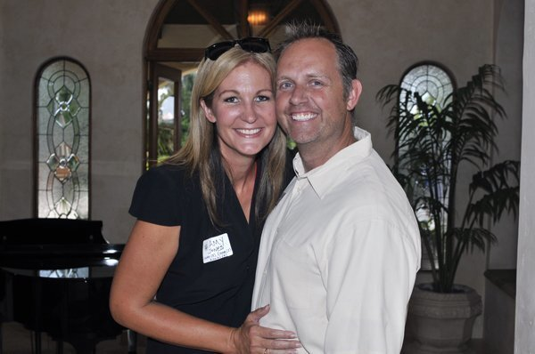 Hosts Amy and Kyle Jones