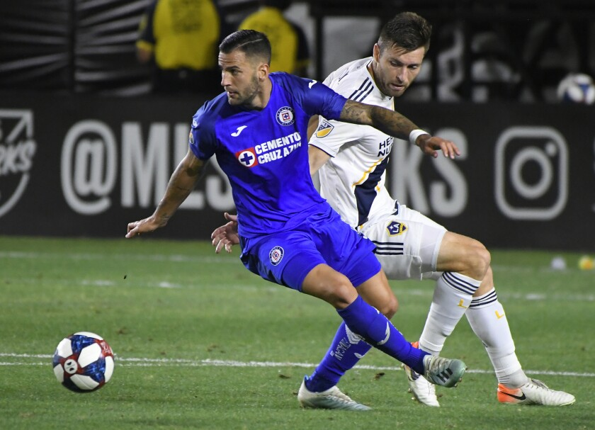 Galaxy Coach Isn T Too Broken Hearted Over Leagues Cup Loss To Cruz Azul Los Angeles Times