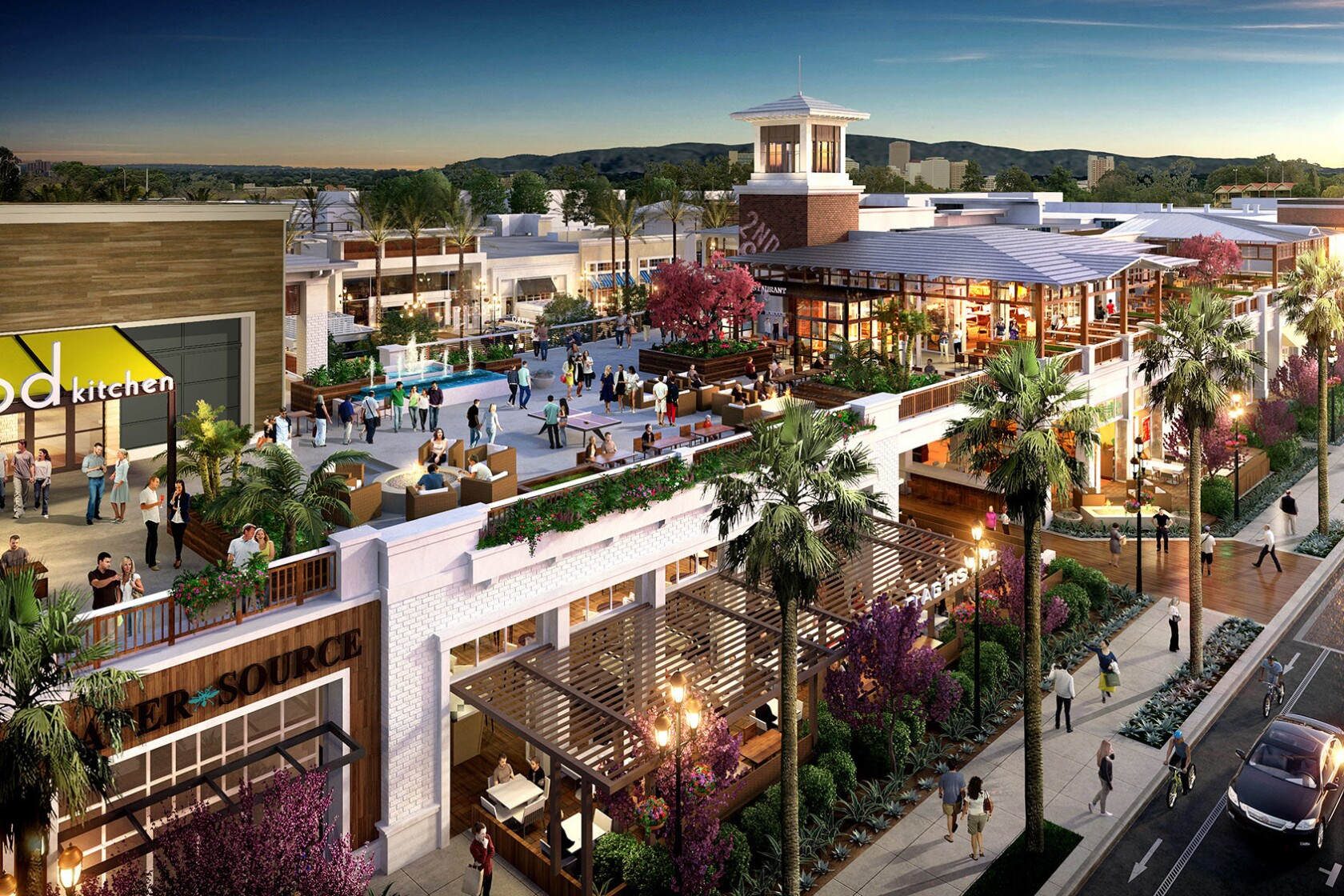 $100-million outdoor coastal mall replacing obsolete Long