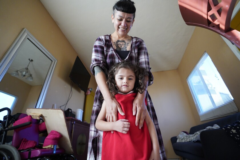 Crisla Soto and her 4-year-old daughter, Camila