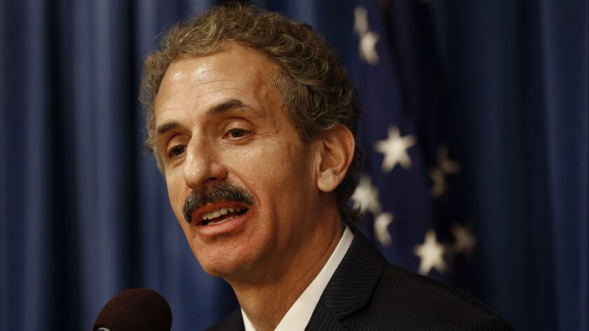 Los Angeles City Atty. Mike Feuer has launched an ethics review to look at issues surrounding the 2017 settlement of a class-action lawsuit brought by DWP customers against the city.