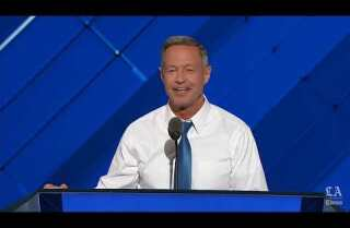 Watch Martin O'Malley take on Donald Trump at the Democratic National Convention