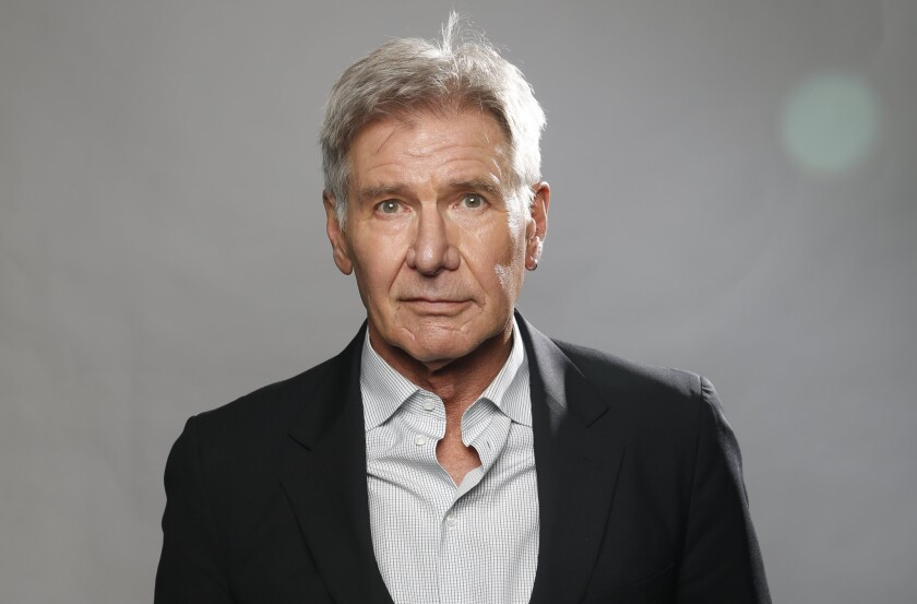 Actor Harrison Ford.
