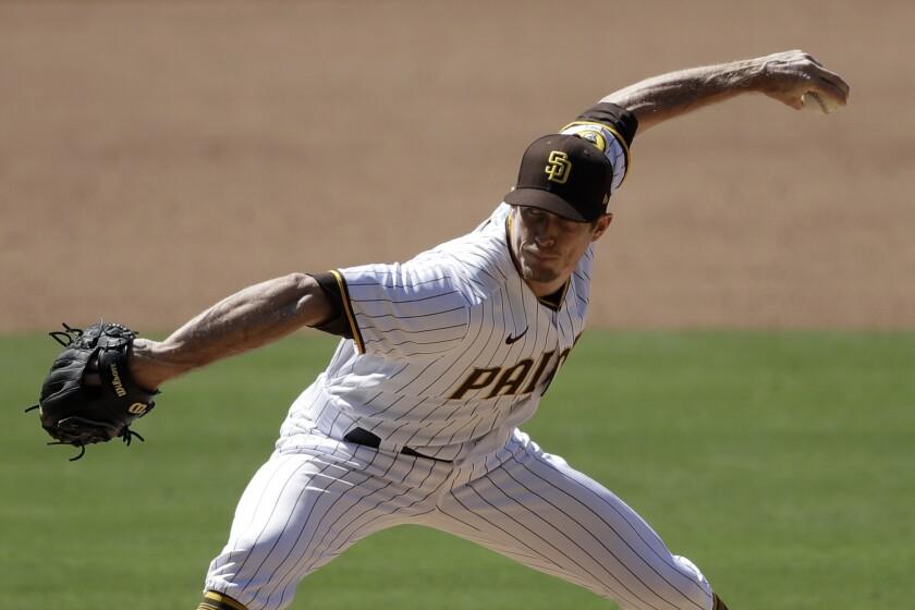 Padres pitcher Tim Hill