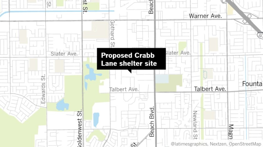 Proposed Crabb Lane shelter site