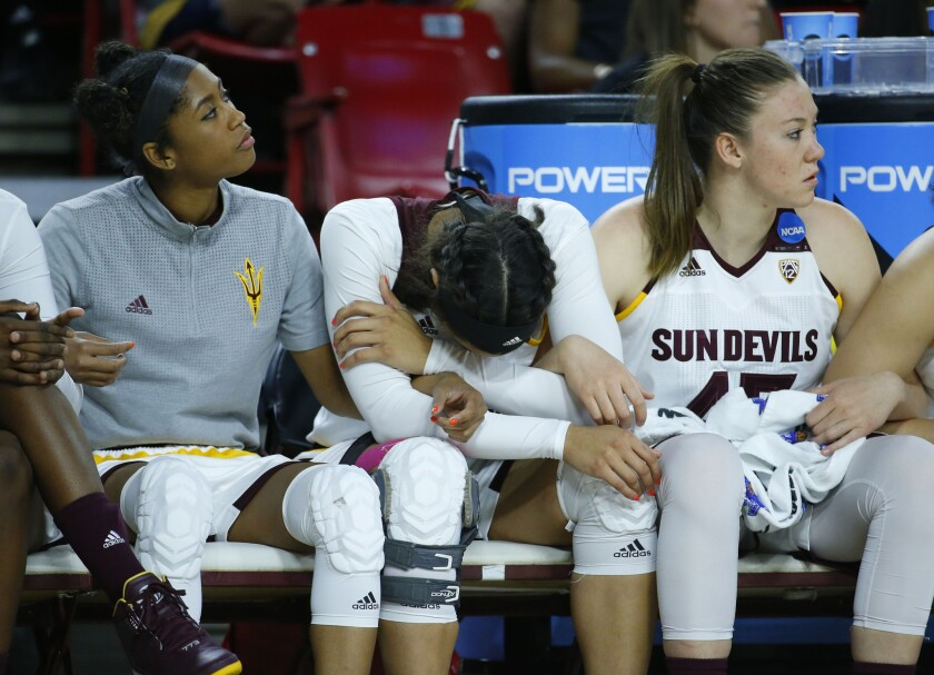 Tennessee surprises Arizona State on its home floor to reach another Sweet 16 in women's basketball