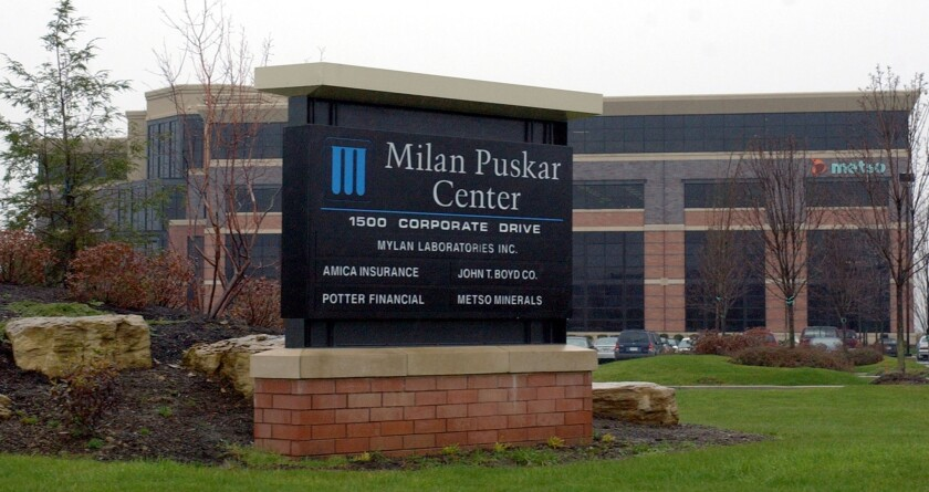 Mylan has agreed to purchase a portion of Abbott's generic drug business for $5.3 billion.