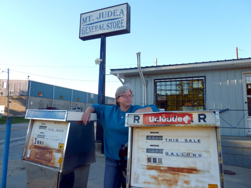 Denise King at her general store in Mt. Judea, Ark., had supported a measure to legalize alcohol sales statewide.