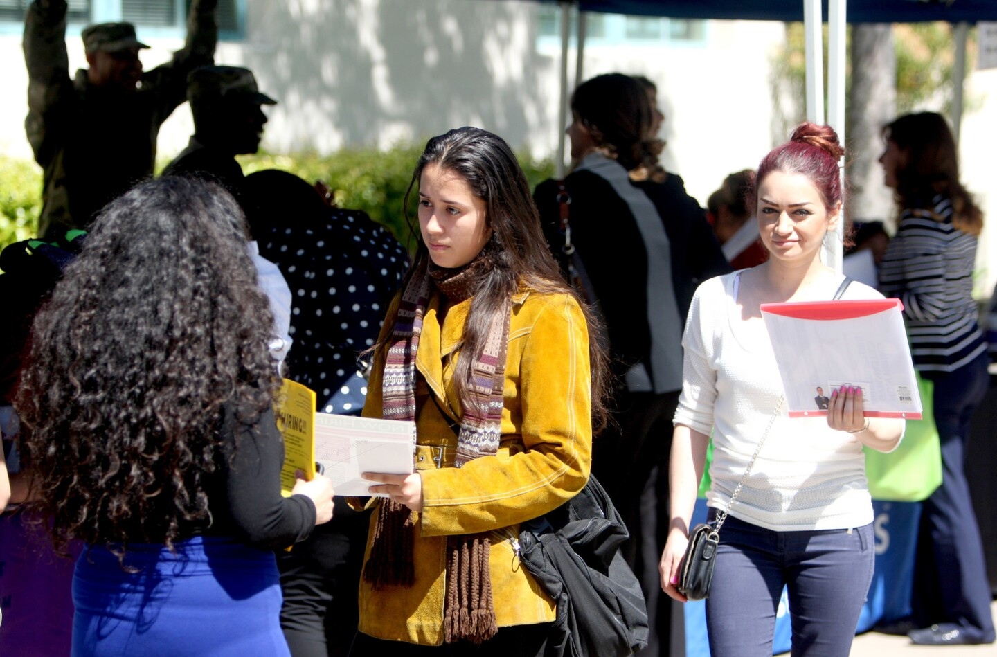 Photo Gallery: Glendale College holds annual Spring Job Fair on campus