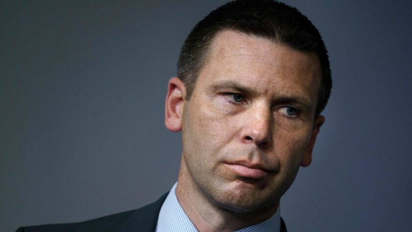 U.S. Customs and Border Protection Commissioner Kevin K. McAleenan.