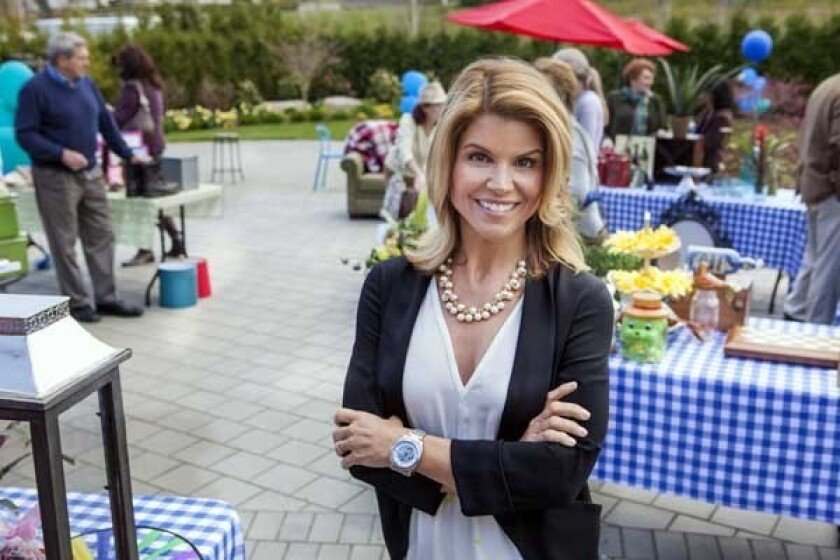 "Lori Loughlin in ""Garage Sale Mystery"" on Hallmark"