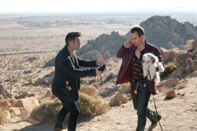 """Oscar-winning writer/director Martin McDonagh's dark comedy, """"Seven Psychopaths,"""" starring Colin Farrell, Woody Harrelson, Sam Rockwell and a Shih Tzu, screens 9 p.m. Saturday, Sept. 29 at Reading Theater in the Gaslamp.  Courtesy"""