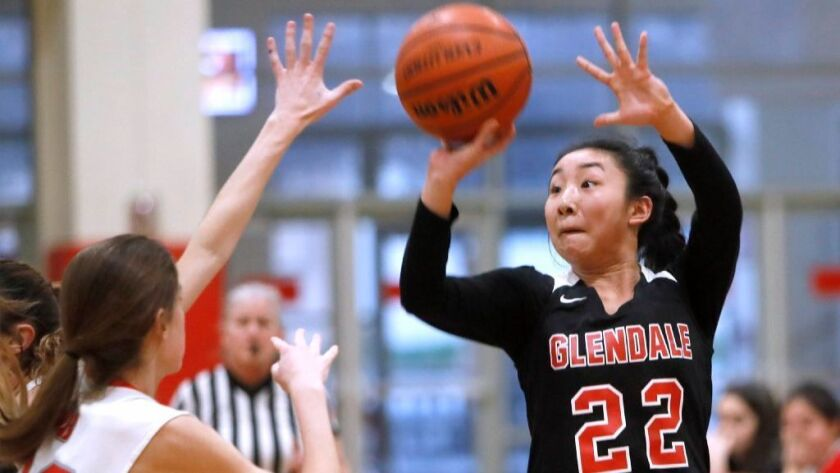 Glendale High girls' basketball sweeps Pacific League awards - Los